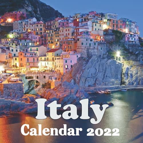 Italy Calendar 2022: Italy 2022 wall Calendar