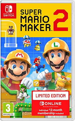 Super Mario Maker 2 Limited Edition - Nintendo Switch [Importación inglesa]