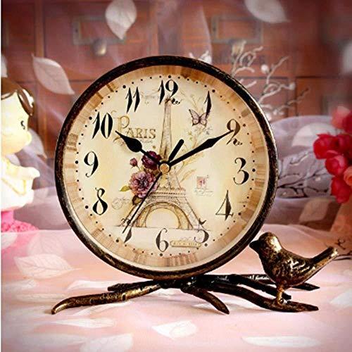 DZXYW Reloj Despertador Accesorios Reloj Coche Hierro