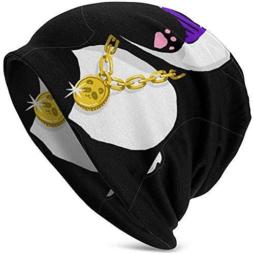 zsxaaasdf Fashion Dabbing Panda Funny.PNG Knit Hat Men, Mens Winter Hat Regalo de Invierno Navidad Simple New Outdoor Fit Christmas
