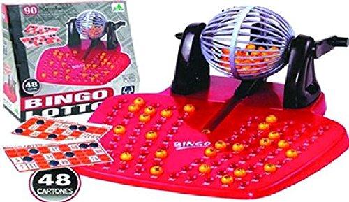MGM - Jeu de loto avec 48 cartons et 90 boules