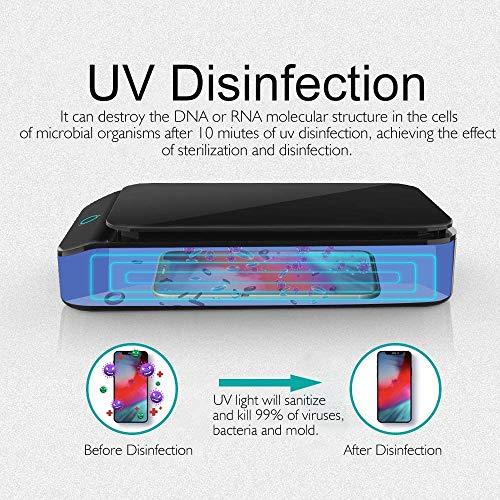 UV-sterilisatiedoos Beauty Disinfector Box Draagbare UV-desinfectiedoos met USB-oplaadpoort en desinfectie van ultraviolet licht voor sleutels, tandenborstels, mobiele telefoons en ander persoonlijk item