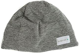 Hush Baby Hat with Softsound Technology and Medical Grade Sound Absorbing Foam, Slate Gray/Small