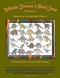 Prehistoric Dinosaurs in Plastic Canvas | Volume 1: An Assortment of 25 Dinosaur Plastic Canvas Pattern Designs