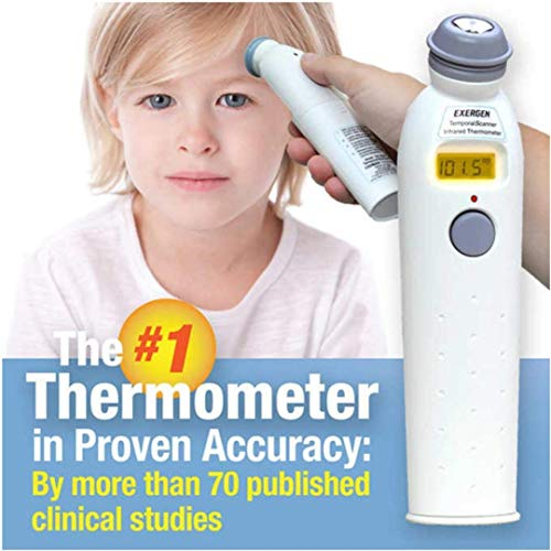 EXERGEN TEMPORAL ARTERY THERMOMETER TAT-2000C SCAN by Exergen