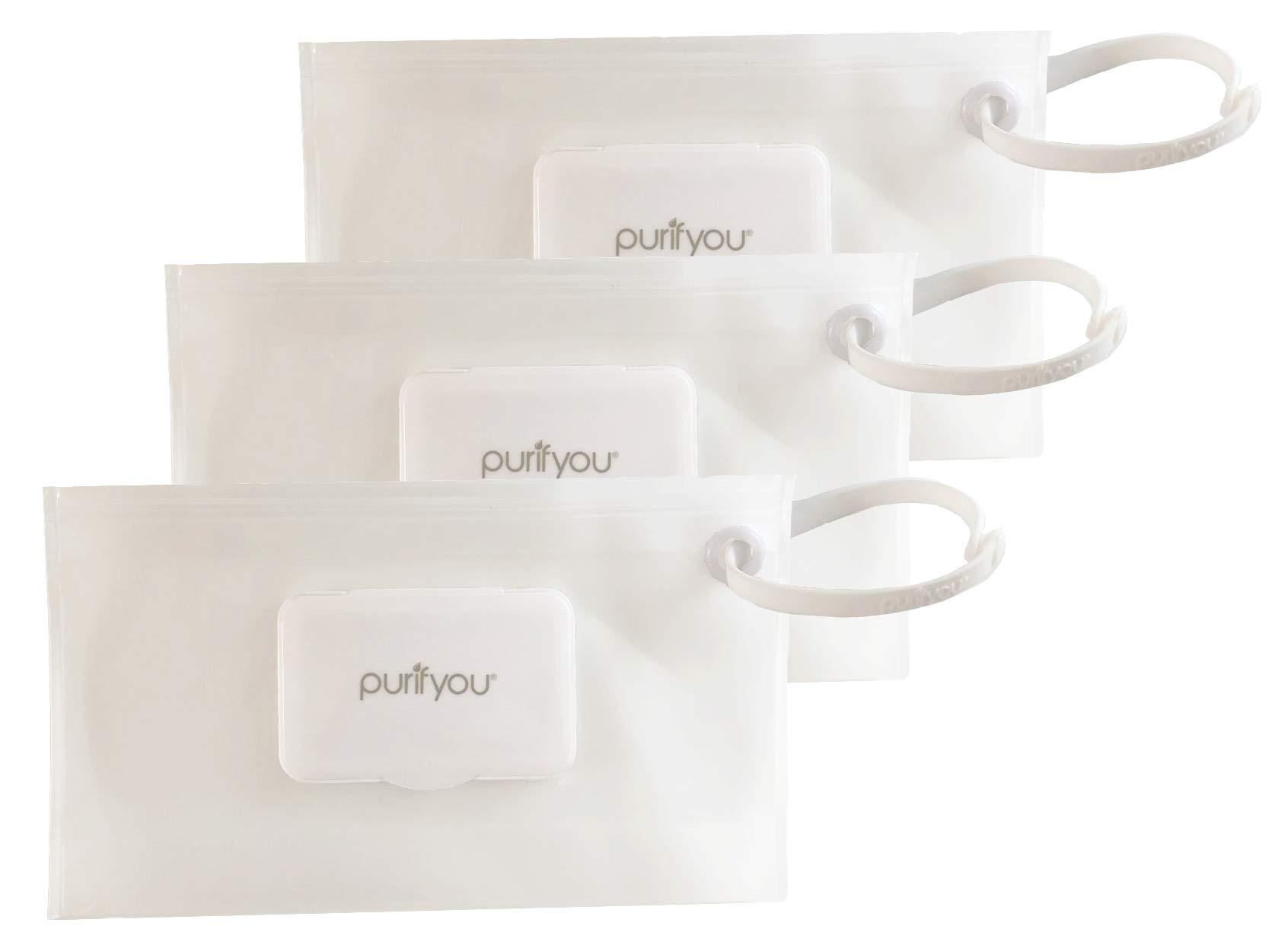 purifyou PurePouch Premium Wetwipe Portable