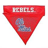 Pet Goods NCAA Mississippi Ole Miss Rebels Collar Bandana, One Size