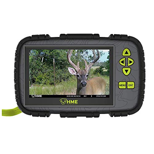 "HME SD Card Reader/Viewer w/ 4.3"" LCD Screen"