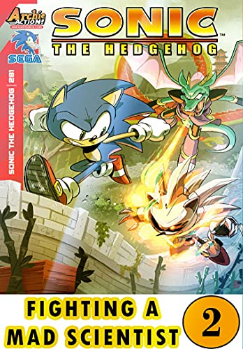 Hedgehog Fighting Mad Scientist: New Collection 2 Funny Graphic Novels Adventure Comic For Kids Children Cartoon Of So-nic (English Edition)