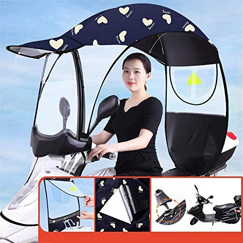Fiets elektrische zonnescherm regenhoes, universele scootmobiel paraplu Mobiliteit zonnescherm & regenhoes waterdicht