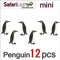 サファリ社ミニフィギュア 340422 ペンギン 12個セット