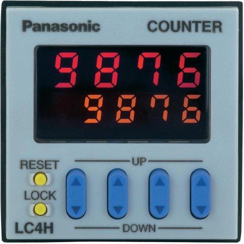 Panasonic Zähler Digital A Vorauswahl LC4HR424SJ Relaisausgang Klemmen A VI