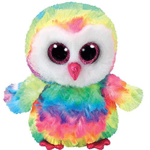 Ty Owen Owl Beanie Boo 15cm