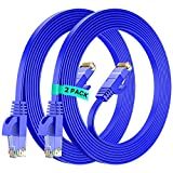 Cat7 Ethernet Cable 12 Ft / 2 Pack,...