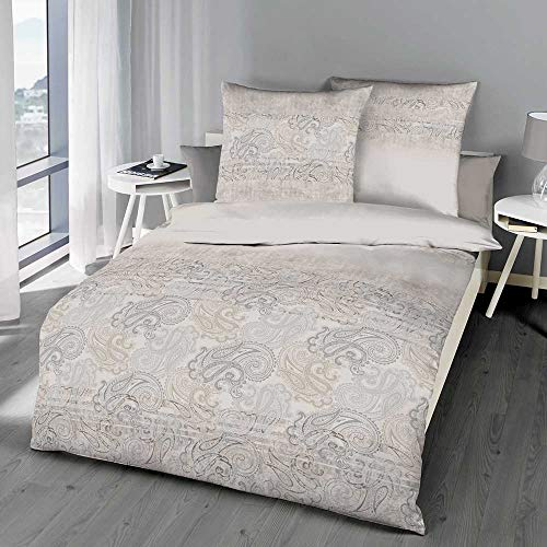 Ropa de Cama Kaeppel con Motivos atemporales de Moda, Calidad a un Precio asequible de Alemania, 100% algodón, Diferentes Modelos y calidades (Kerale 140/220, Franela Fina).