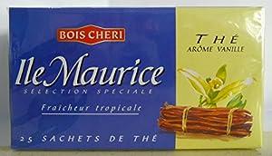 bois cheri tea vanilla flavour ile Maurice 25 sachets 50g