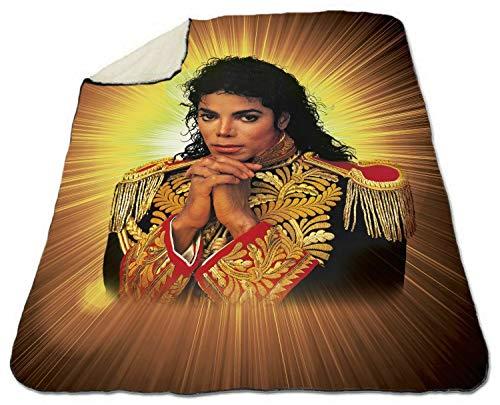 Michael Jackson Blanket Sherpa Fleece Blanket Velveteen Plush Blanket