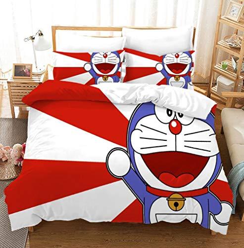 GuoDamei Doraemon Bettbezug-Set...