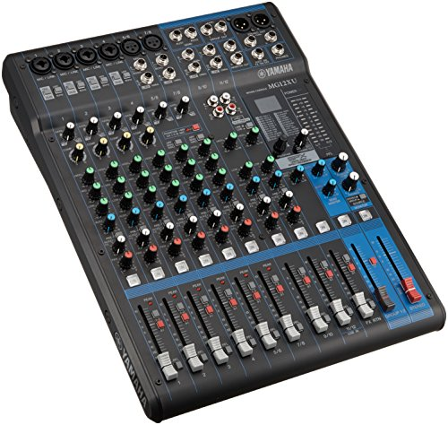 YAMAHA 12-Channel Mixing Console MG12XU