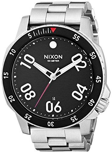 NIXON Reloj Analógico para Hombre de Cuarzo con Correa en Acero Inoxidable A506000
