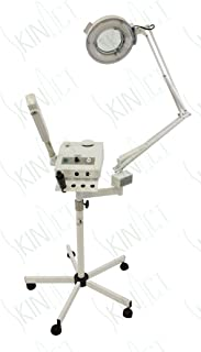 Ozone Steamer, 5 Diopter Magnifying Lamp & High Frequency By SkinAct