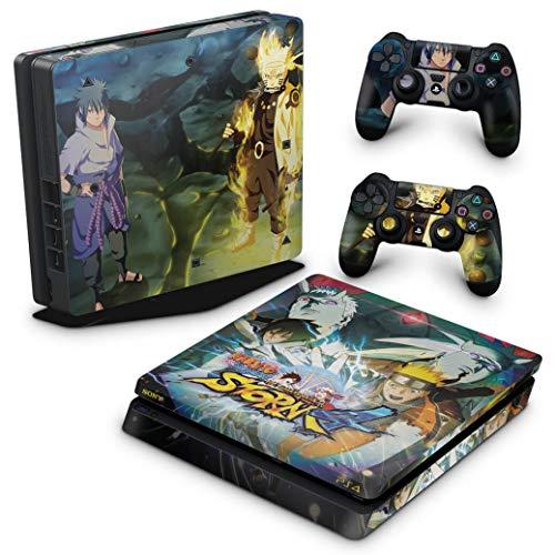 Skin Adesivo para PS4 Slim - Naruto Shippuden: Ultimate Ninja Storm 4