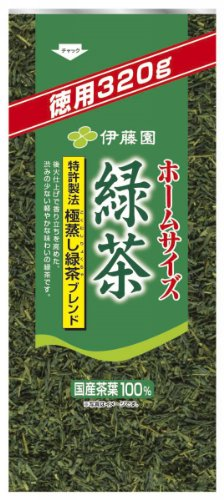 Home Value Pack Size Green Tea 330g×6