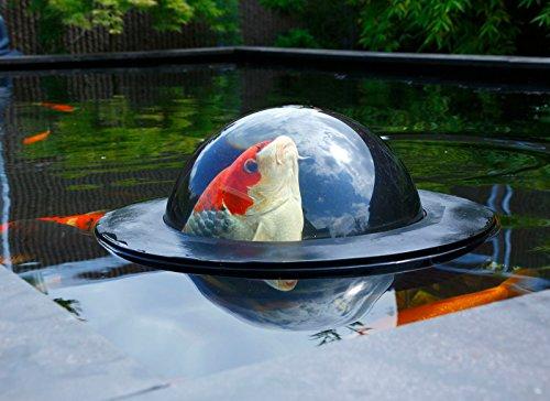 Velda Fisch Beobachtungskuppel Floating Fish Dome Größe M Teich Treibende Kuppel