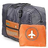 Travel Bag Lightweight Duffel Gym Bag Waterproof Foldable Portable Luggage Bag Men Women (32L,...