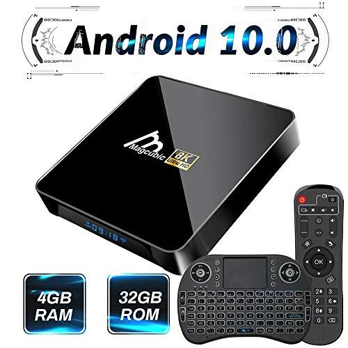 professionnel comparateur TV-Box Android 10.0, 4 Go 32 Go prend en charge 8k 4K 3D, amlogics 905 × 3 Smart-TV-Box Wi-FI 2.4G / 5G… choix