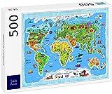 Lais Puzzle Mapa del Mundo en inglés 500 Piezas