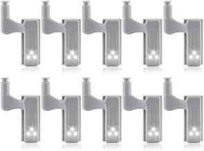 bobotron 11 stuks kast kast kast kast LED scharnier licht intelligente sensor lamp warm wit