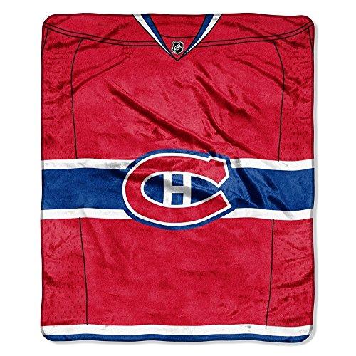 NHL Montreal Canadiens 'Jersey' Raschel Throw Blanket, 50' x 60'