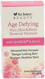 Rx Select Age Defying Hair,Skin & Nails Renewal Formula,60 Caplets