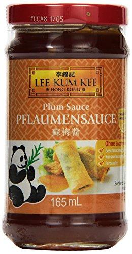 Lee Kum Kee Pflaumen Sauce (aus China, süß, fruchtig, ohne Glutamat, ohne Konservierungsstoffe, ohne Farbstoffe, vegan) 1er Pack (1 x 165 ml)
