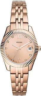 Fossil SCARLETTE MINI Women's Wristwatch, Genuine Imported, Rose Gold ES4898