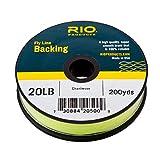 Rio Fly Fishing Backing Dacron 20Lb 200 yd. Fly...