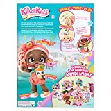 Kindi Kids™   Snack Time Friends Summer Peaches - Kindi Kids™ 25,4 cm Puppe und 2 Shopkin-Zubehörteile für Kindergartenkinder, 50046 - 3