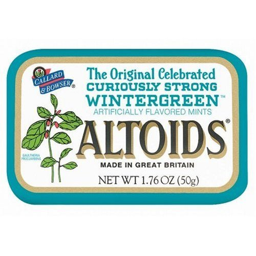 Altoids Curiously Strong Mints  Wintergreen 176 oz Pack of 6