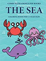 Coloring Book for 4-5 Year Olds (Sea Life)