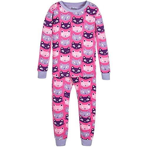 Hatley DR5CACA Pyjama 1 pièce Coton biologique. Couleur 213-Rose, taille 9-12.