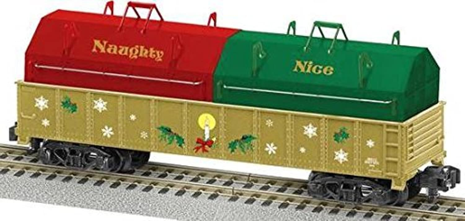 S AF Gondola w Cover, Naughty or Nice by Lionel