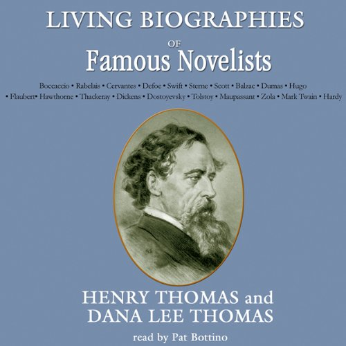 Living Biographies of Famous Novelists cover art