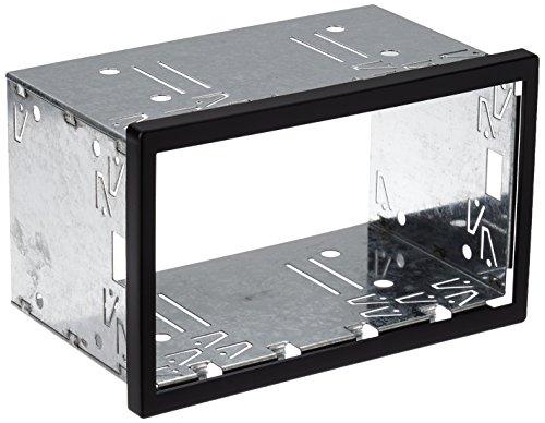 ACV - Marco de metal para radio de coche, 2DIN, Color Negro, 18.2 x 11.5 x 10.5 cm