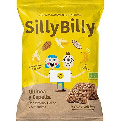 Snack Cuadraditos horneados ECO Plátano y Cacao SillyBilly
