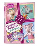 Angelina Ballerina - Celebrate with Angelina [triple pack] (Just Dance / It's Showtime / Sweet Valentine) [DVD] [Reino Unido]