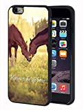 iPhone 6 Plus/iPhone 6s Plus Case,Horse Theme TPU Durable Case for Apple iPhone 6 Plus/iPhone 6s Plus 5.5 inch