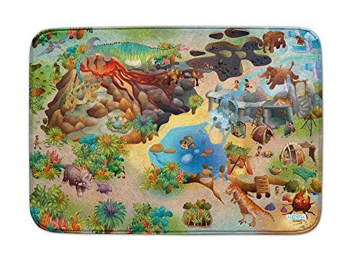 Achoka Die Dinosaurier Ultra-weiche Spielteppich