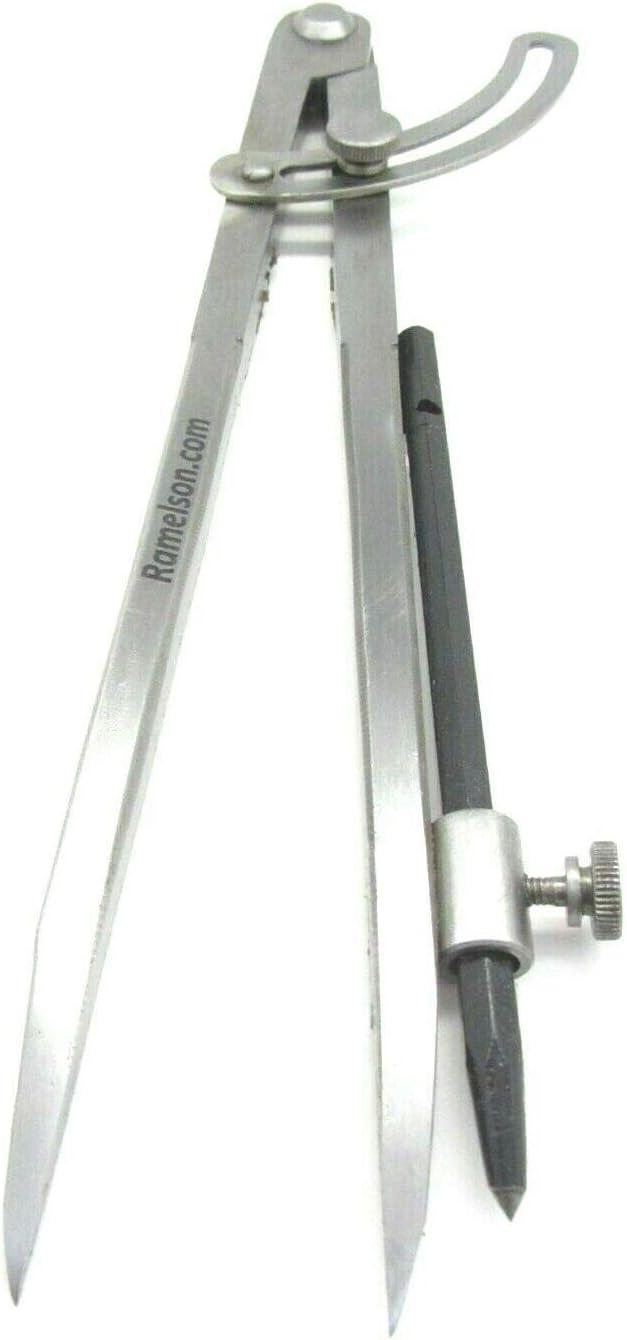 BIlinli Carpenter Precision Pencil Compas Diviseurs r/églables de Grand diam/ètre Marquage de Bord Compas de tra/çage