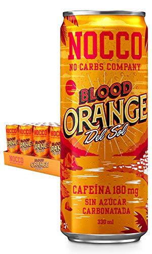 NOCCO BCAA Blood orange del sol 24 latas x 330ml